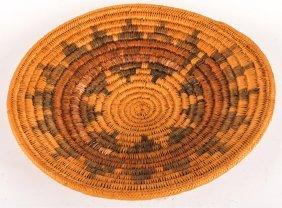 Mid 20th C Navajo Wedding Basket Made By Paiutes