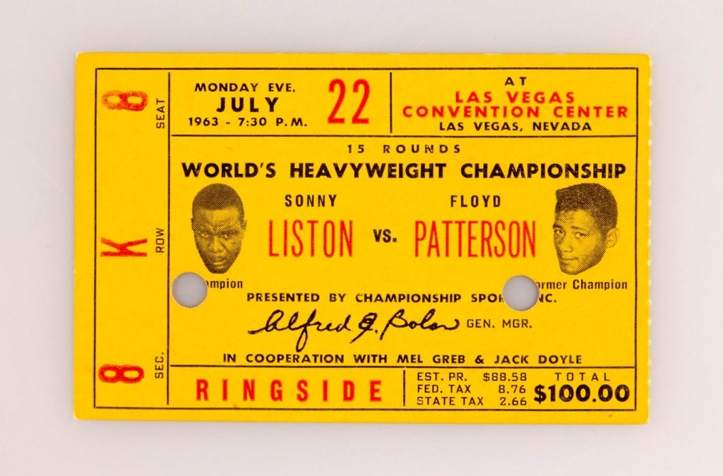 4 CHAMPIONSHIPS FINALS BOXING TICKETS ALI & MORE - 2