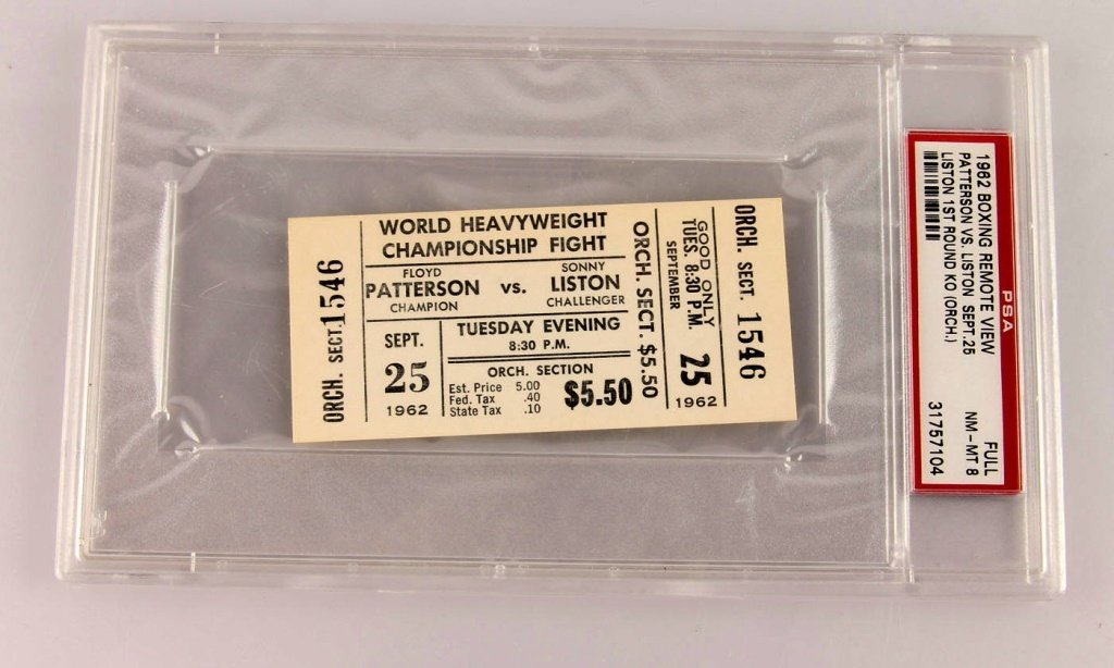 4 CHAMPIONSHIPS FINALS BOXING TICKETS ALI & MORE - 4