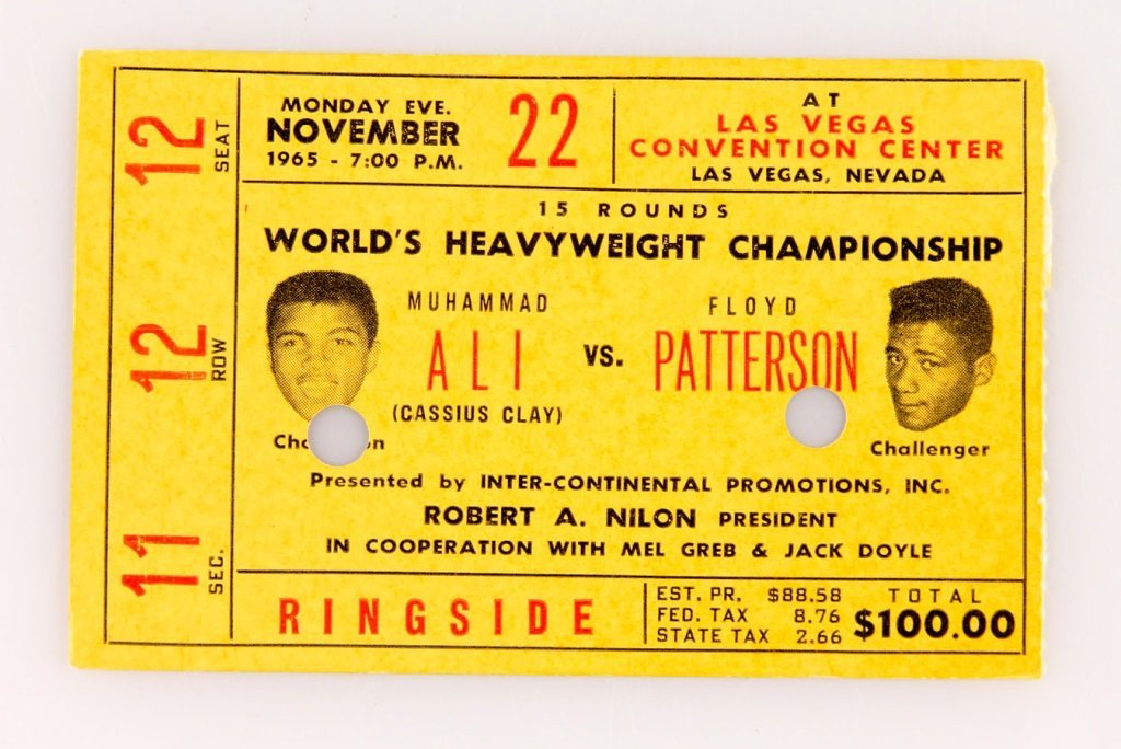4 CHAMPIONSHIPS FINALS BOXING TICKETS ALI & MORE - 5