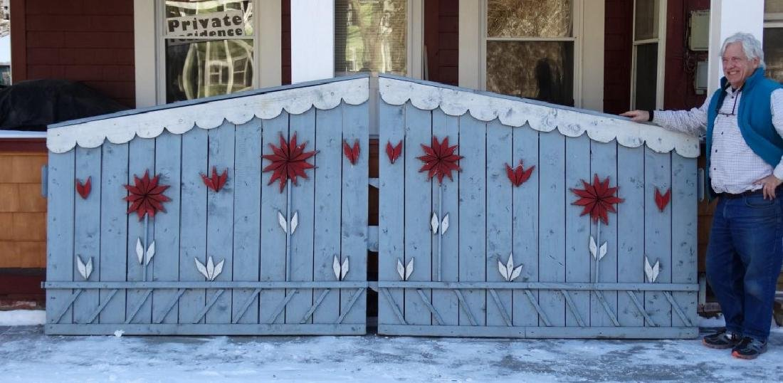 Pair Of Wooden Gates