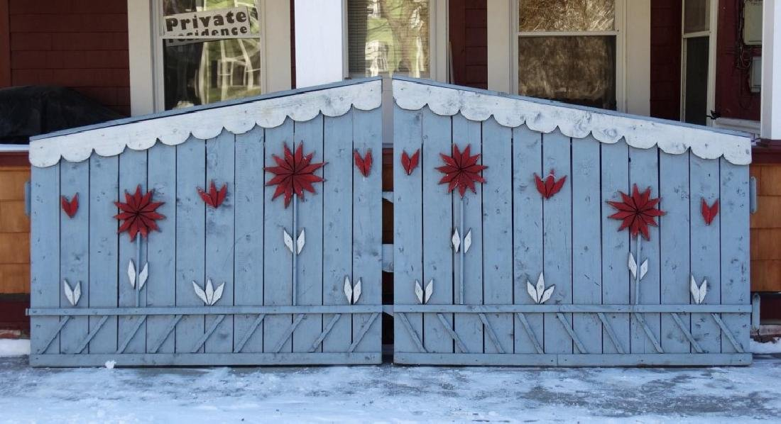 Pair Of Wooden Gates - 2