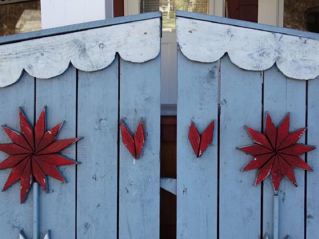 Pair Of Wooden Gates - 3