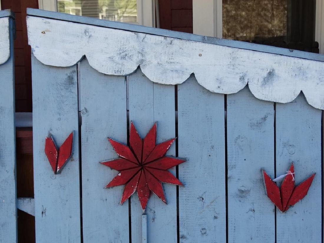 Pair Of Wooden Gates - 4