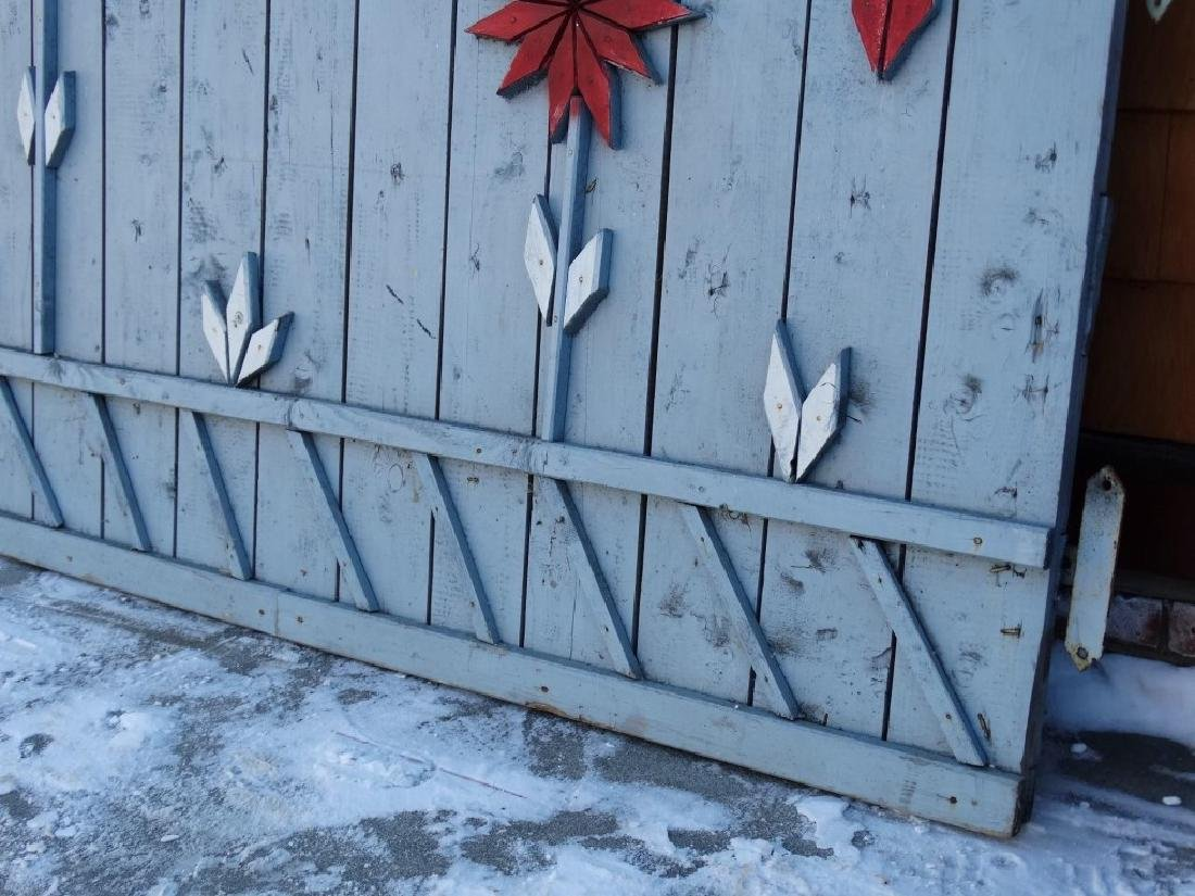 Pair Of Wooden Gates - 6
