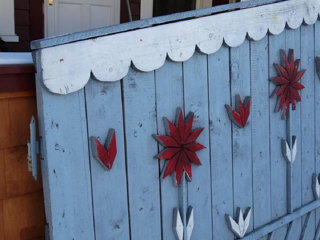 Pair Of Wooden Gates - 8