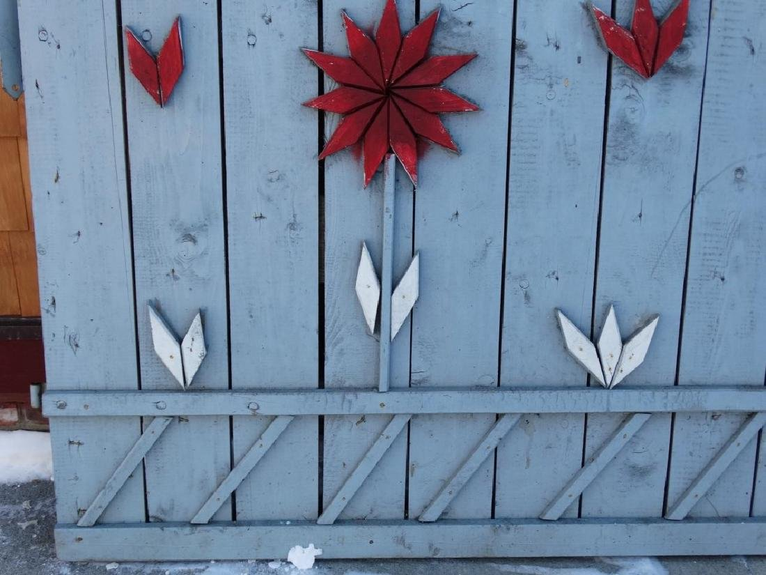 Pair Of Wooden Gates - 9