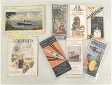 Ocean Liner Booklets