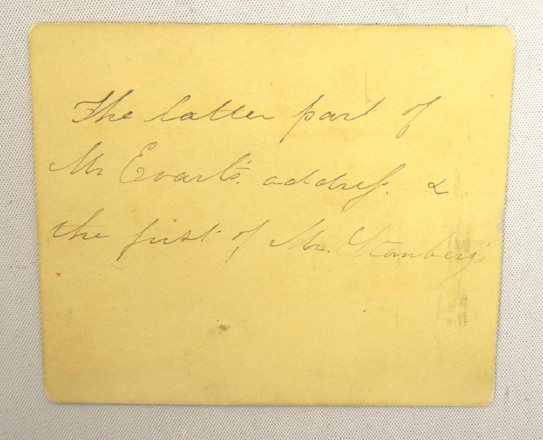 President Andrew Johnson Impeachment Ticket - 3