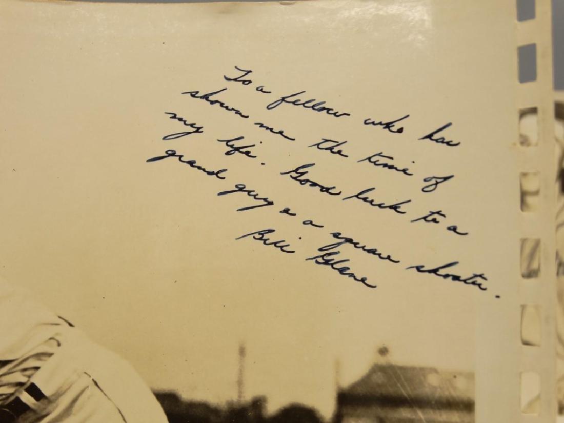 Autographed Baseball Photographs - 10