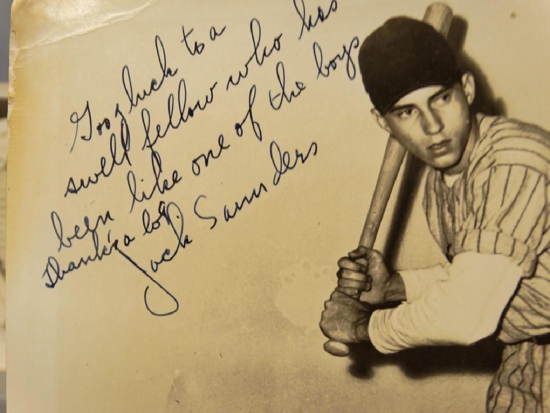 Autographed Baseball Photographs - 11