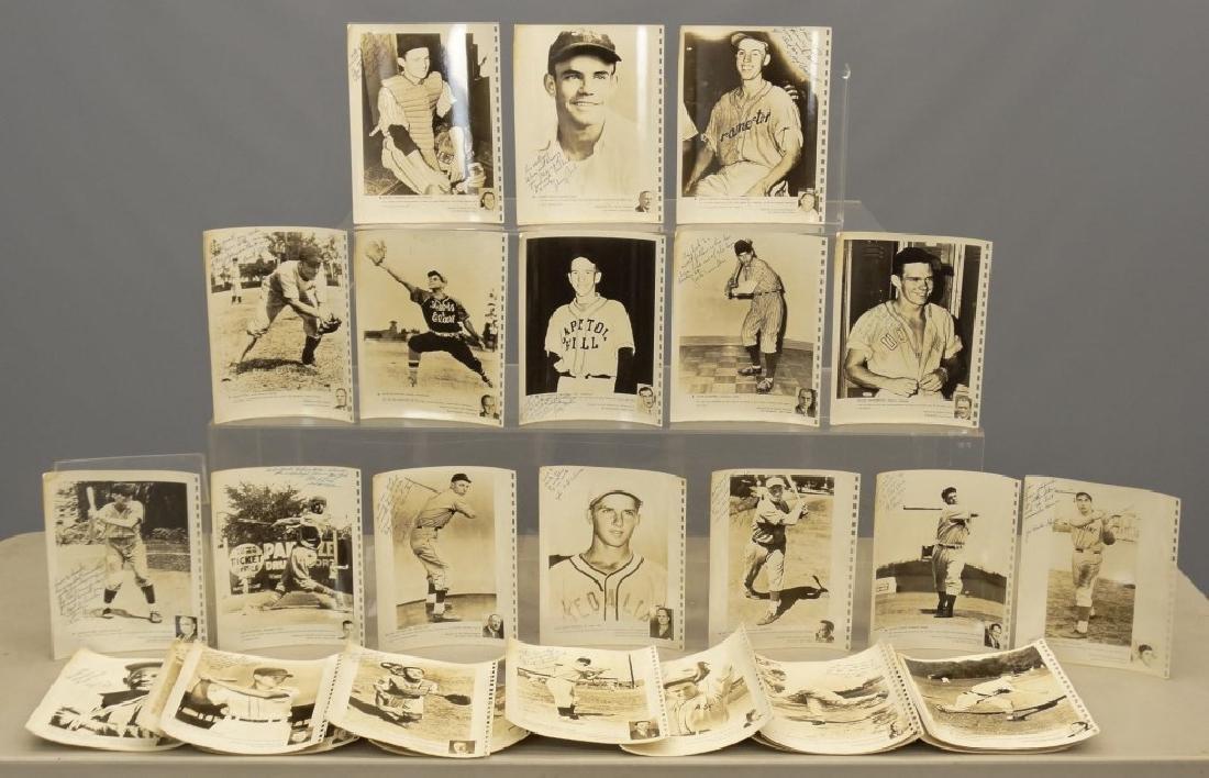 Autographed Baseball Photographs