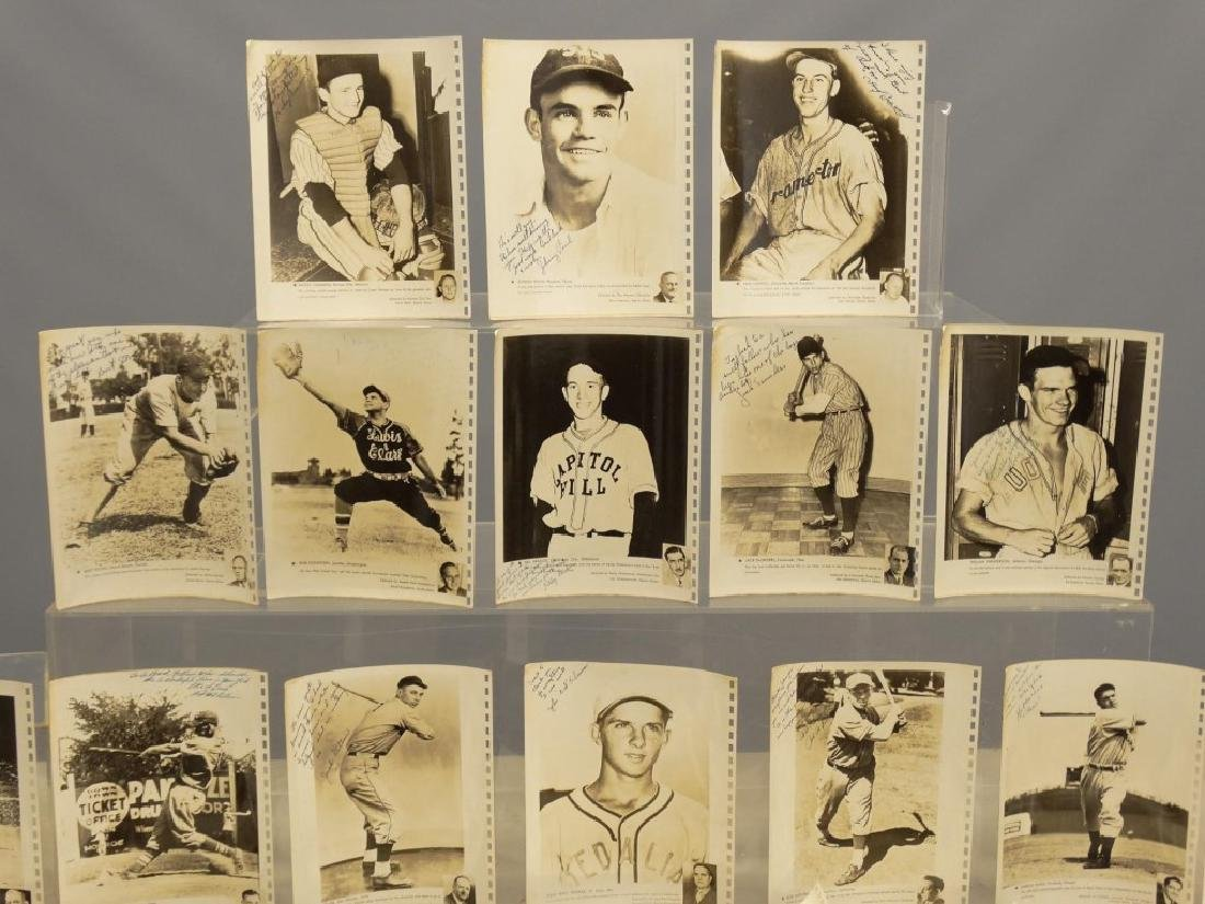 Autographed Baseball Photographs - 2