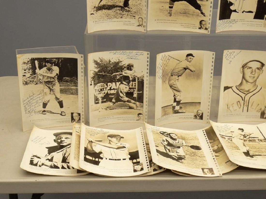Autographed Baseball Photographs - 3