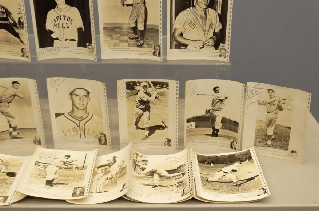 Autographed Baseball Photographs - 4