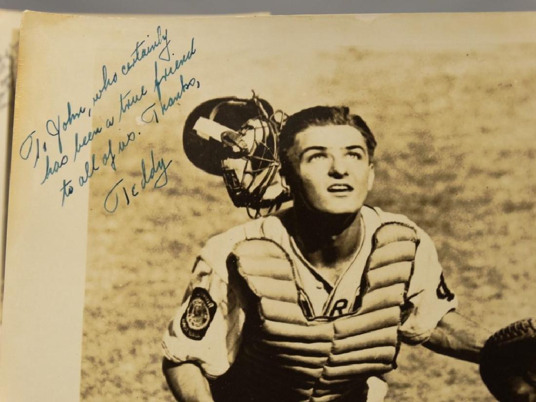 Autographed Baseball Photographs - 8