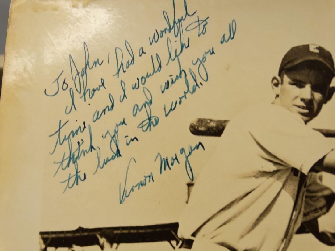 Autographed Baseball Photographs - 9