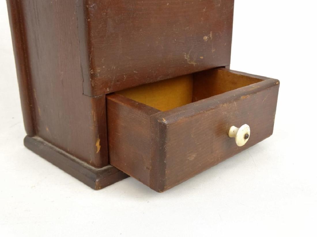 19th c. Wallbox - 3