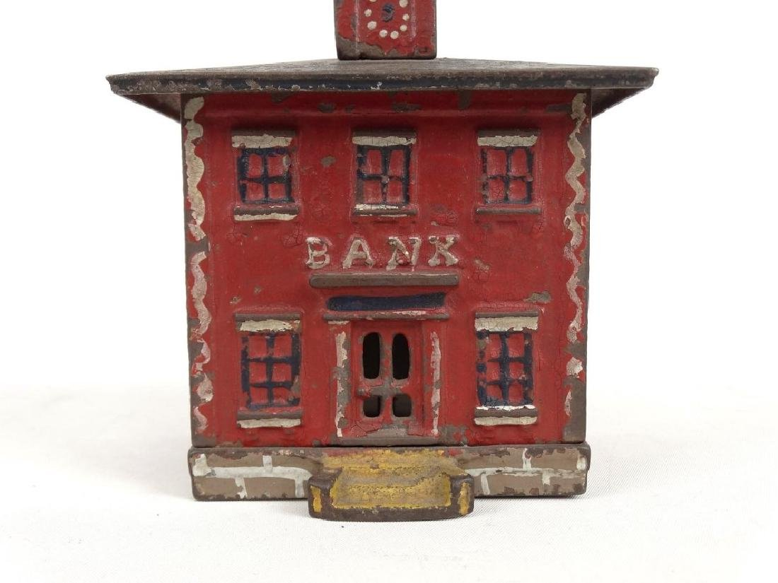 Cast Iron Cupola Bank - 3