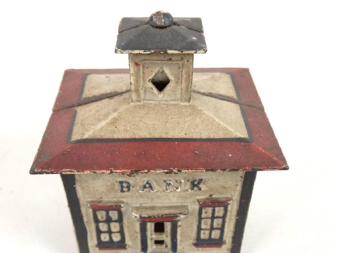 Cast Iron Cupola Bank - 2