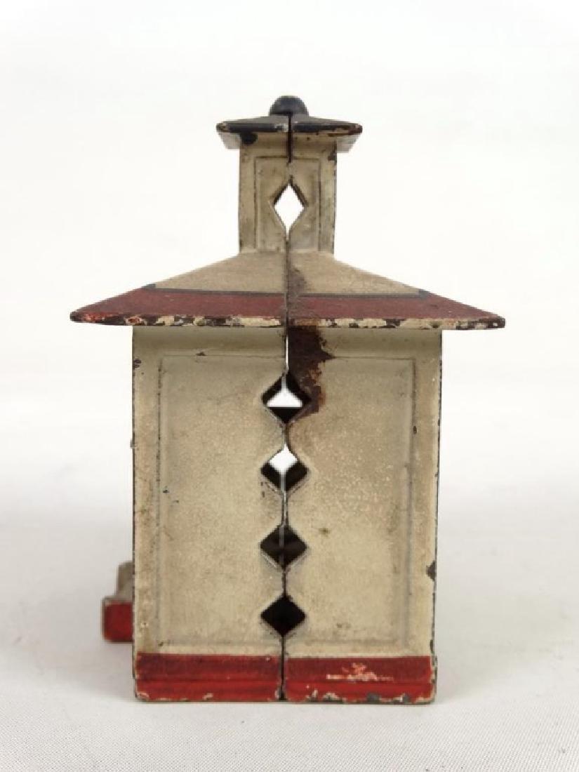Cast Iron Cupola Bank - 5