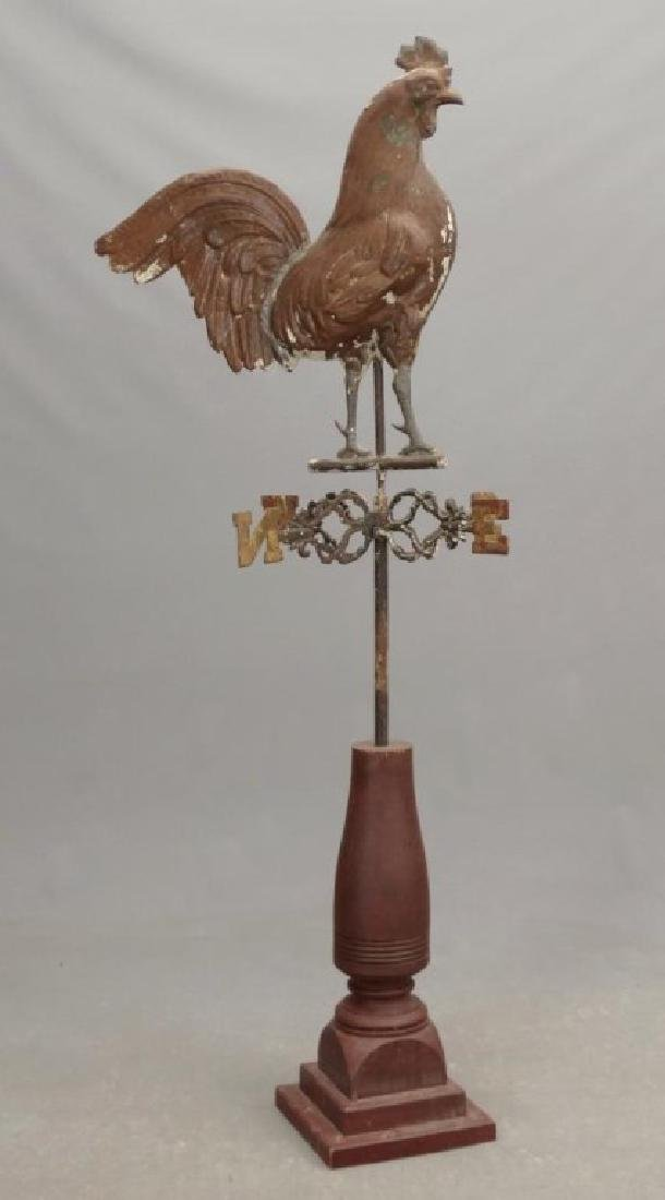 Rooster Weathervane - 2