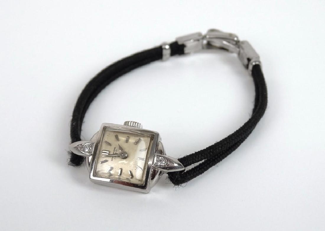 18 Karat Gold Ladie's IWC Wrist Watch