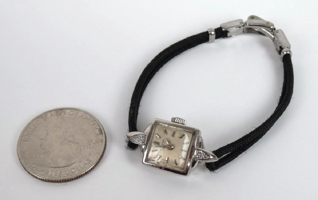 18 Karat Gold Ladie's IWC Wrist Watch - 2