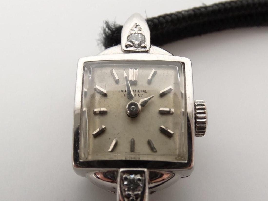 18 Karat Gold Ladie's IWC Wrist Watch - 3