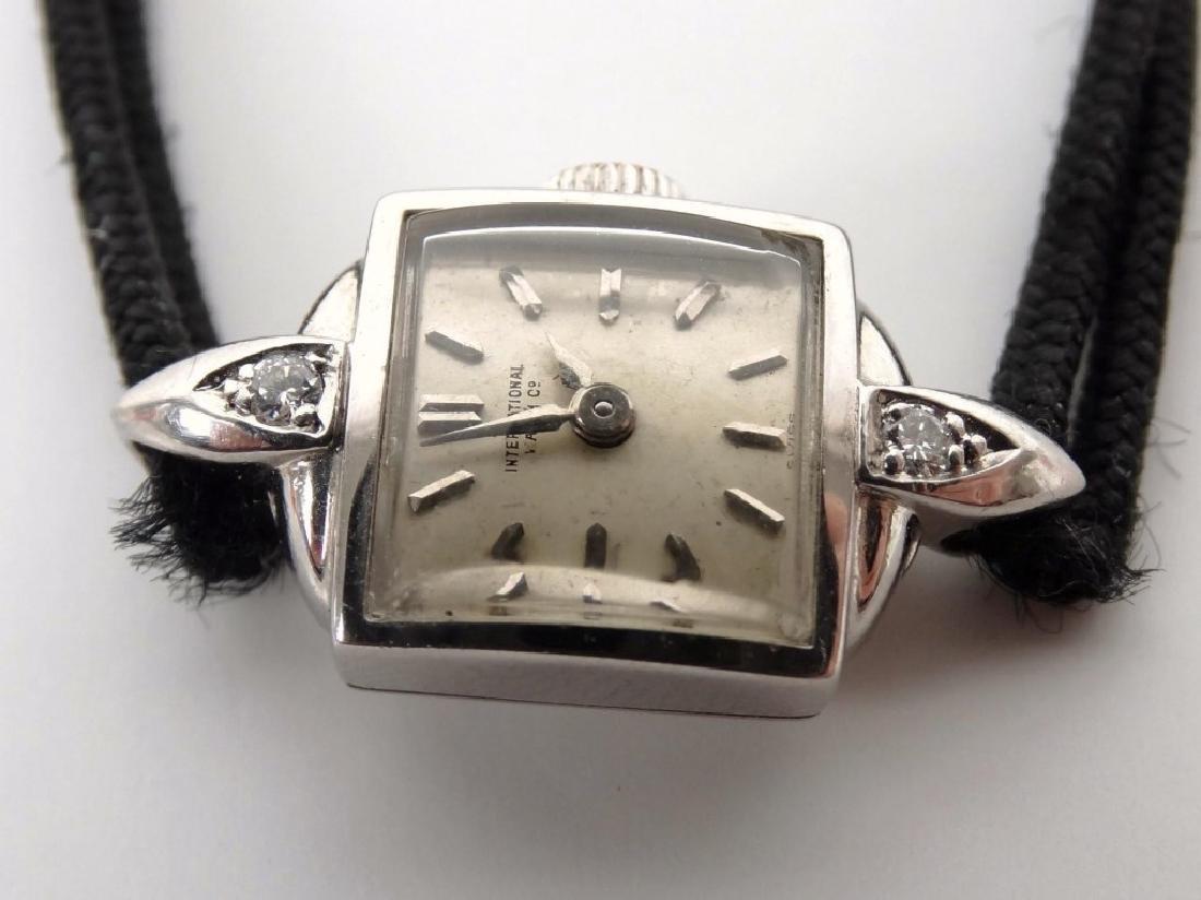 18 Karat Gold Ladie's IWC Wrist Watch - 4