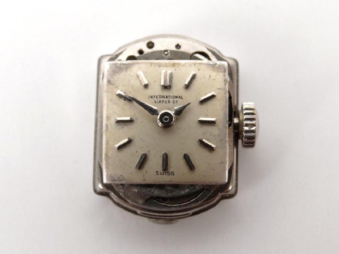 18 Karat Gold Ladie's IWC Wrist Watch - 7