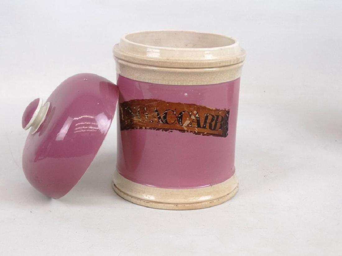 Pair 19th c. Apothecary Jars - 2