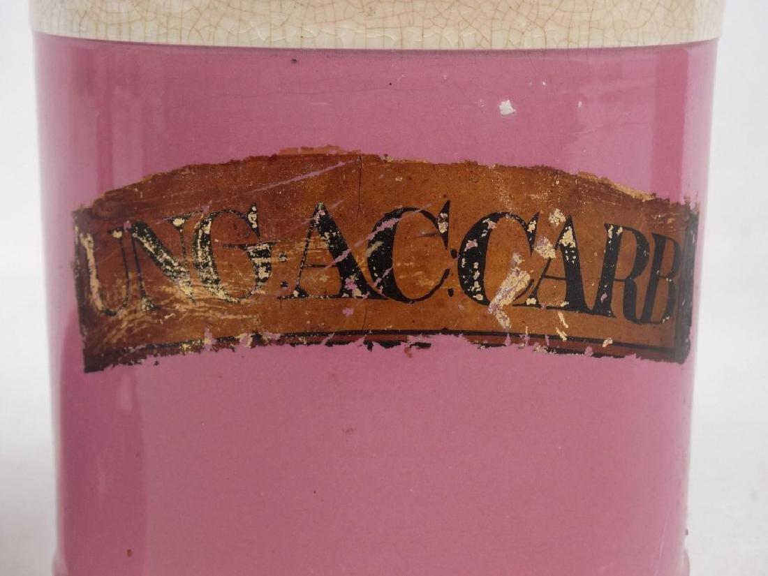 Pair 19th c. Apothecary Jars - 4