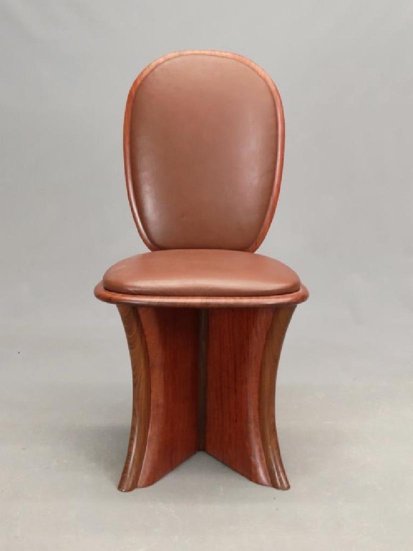Modern Design Hardwood Chair - 2
