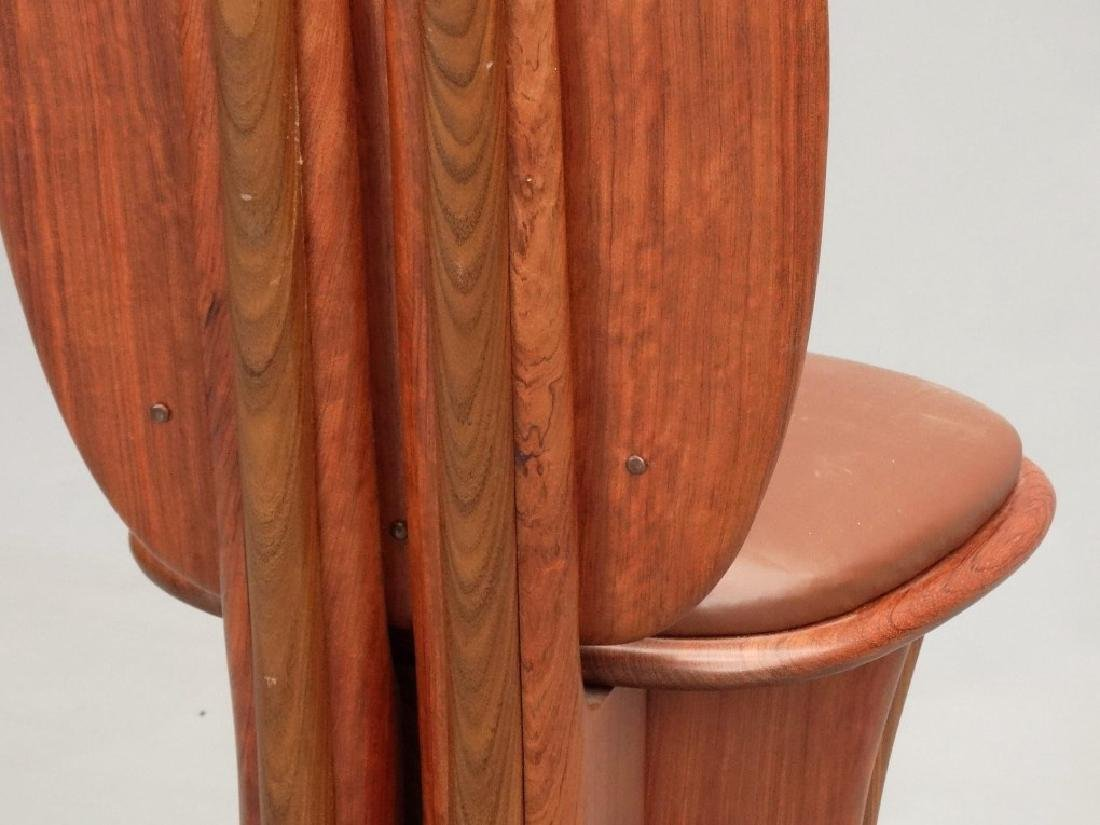 Modern Design Hardwood Chair - 8