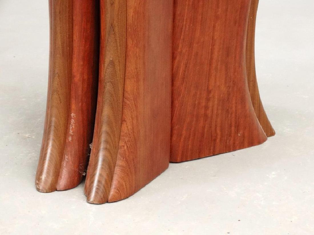 Modern Design Hardwood Chair - 9