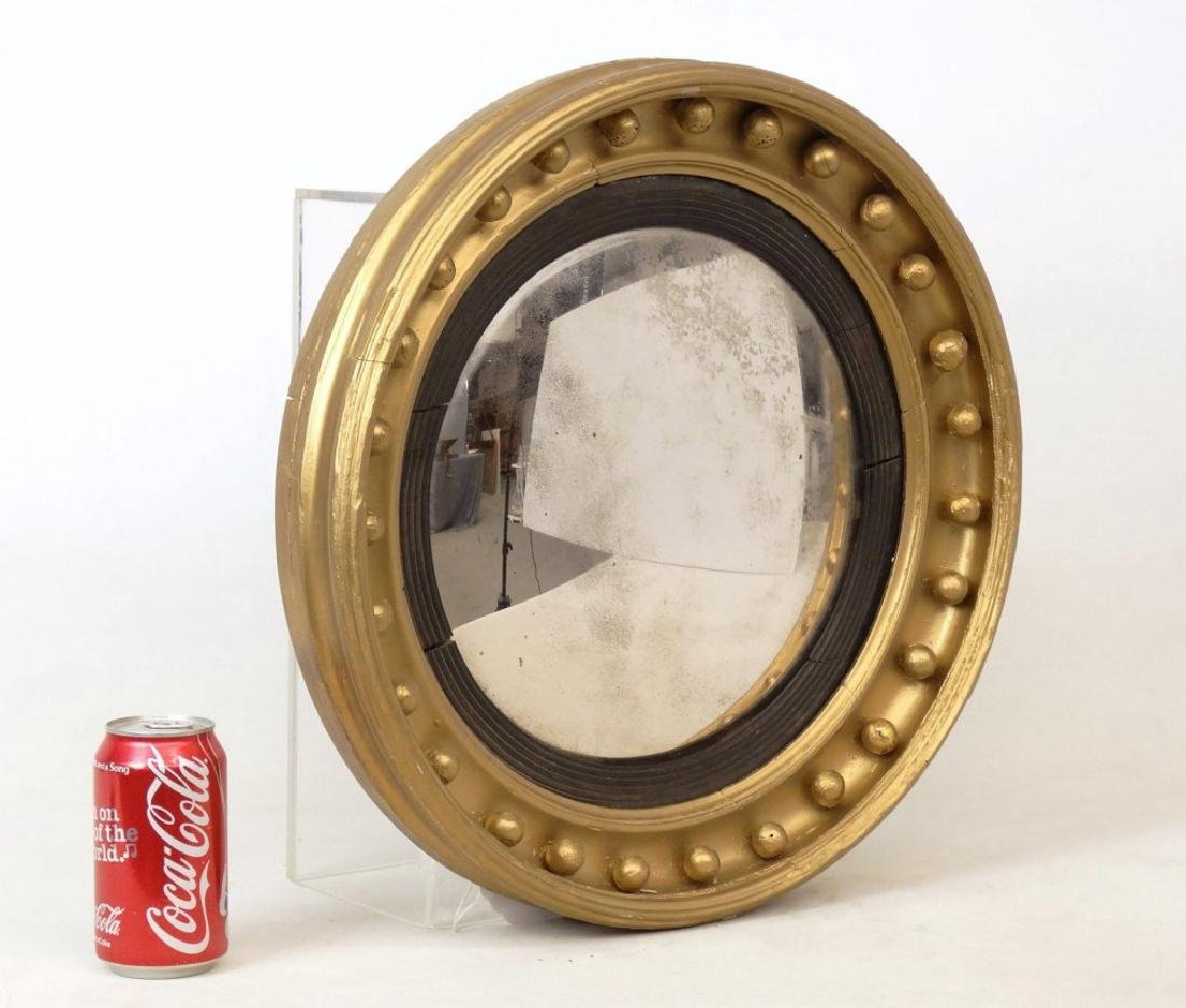 19th c. Bullseye Mirror