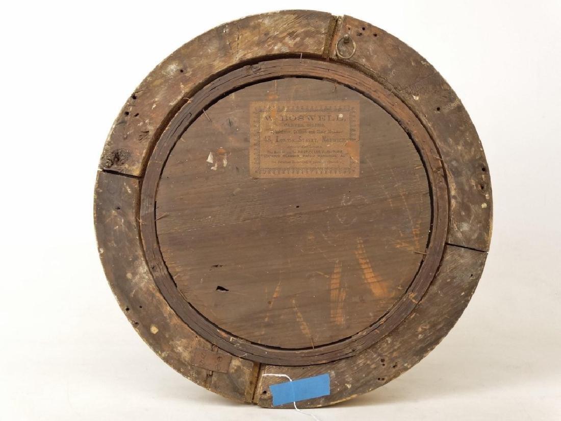 19th c. Bullseye Mirror - 4