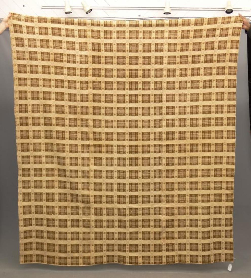 19th c. Coverlet