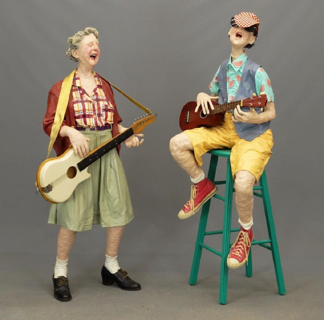Kay Ritter (American 20th Century), Guitar Players - 2
