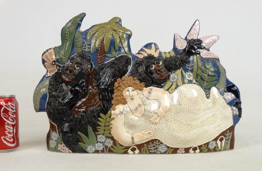"""CARRYL"" Ceramic Sculpture"