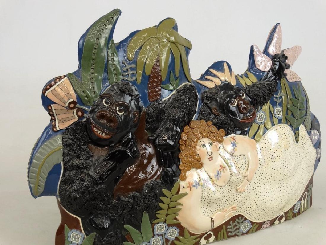 """CARRYL"" Ceramic Sculpture - 2"