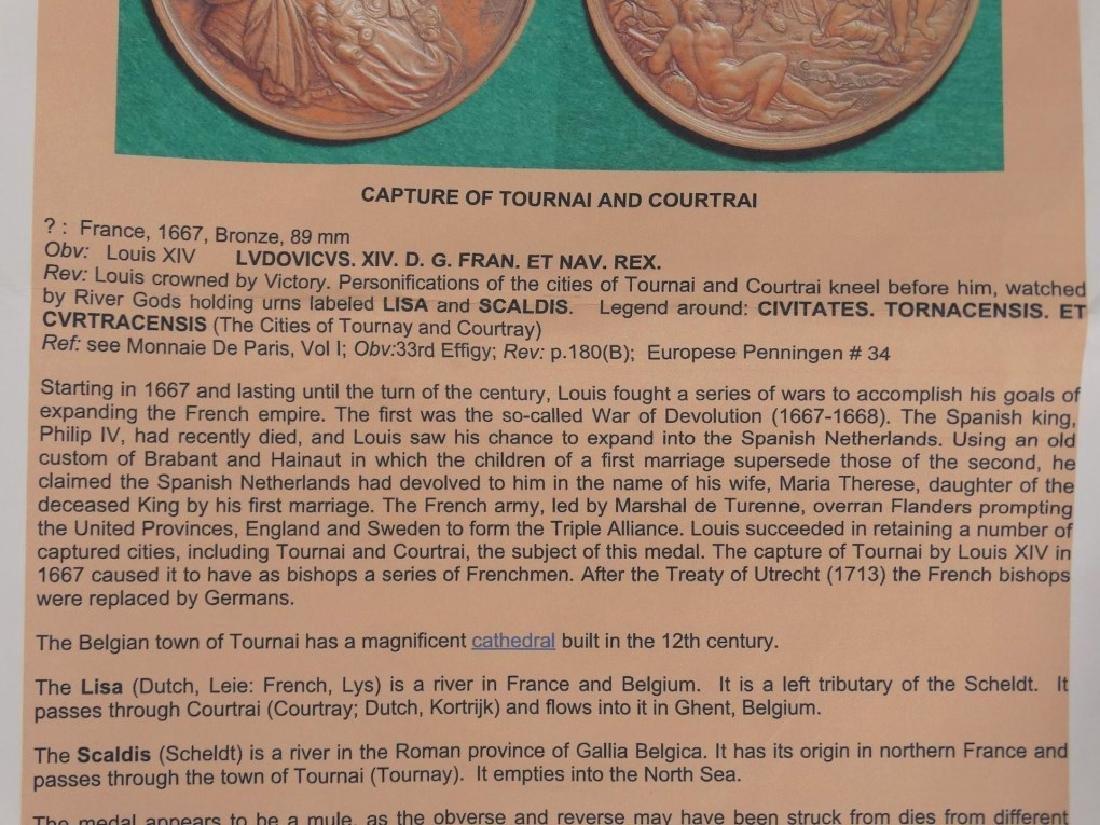 Bronze Medallions - 12