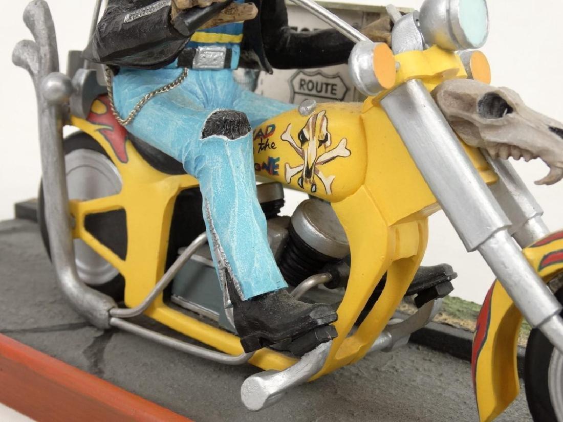 Biker Dog Sculpture - 5
