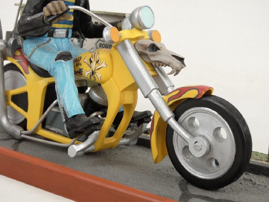 Biker Dog Sculpture - 6