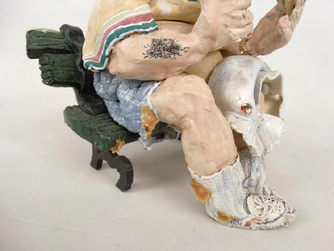 D. M. Z. Coyle Pottery Sculpture - 7