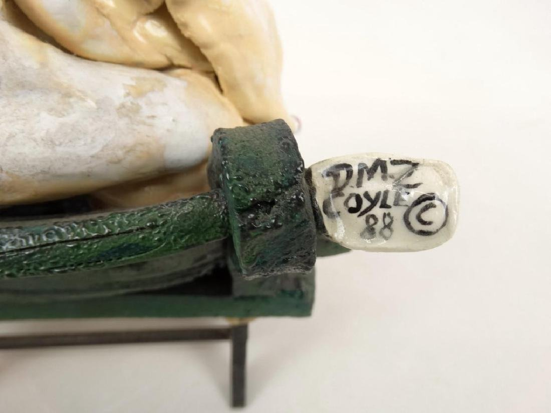 D. M. Z. Coyle Pottery Sculpture - 8