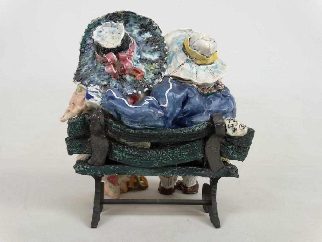 D. M. Z. Pottery Sculpture - 8