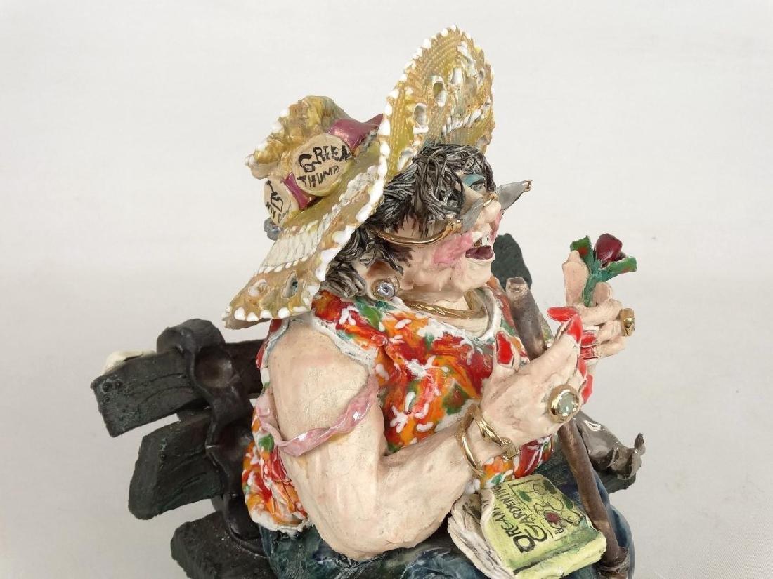 D. M. Z. Pottery Sculpture - 2