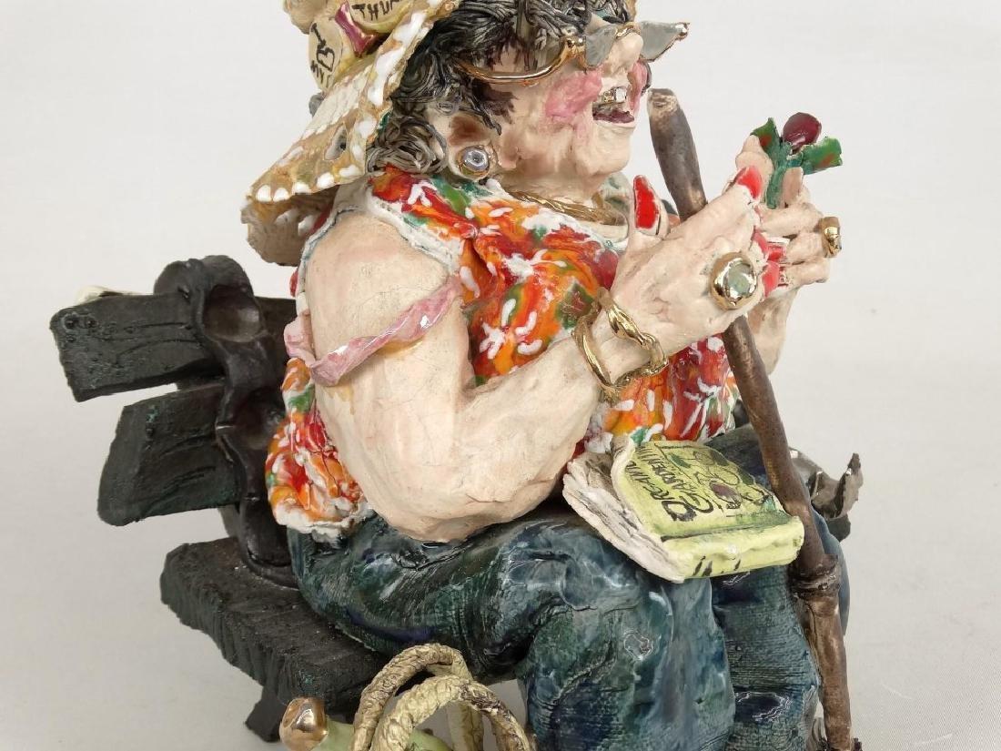 D. M. Z. Pottery Sculpture - 3